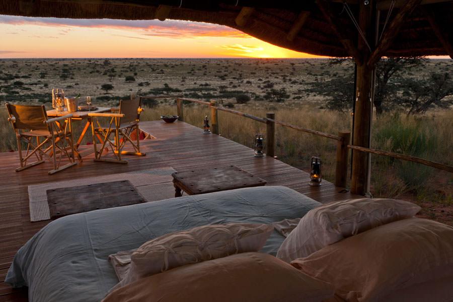 Camera dell'hotel Tswalu Kalahari in Sudafrica