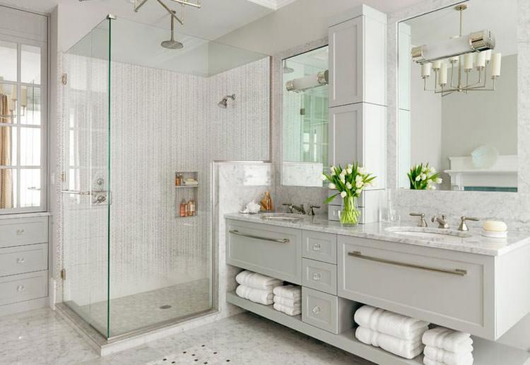 Idee di arredamento bagno in grigio mondodesign