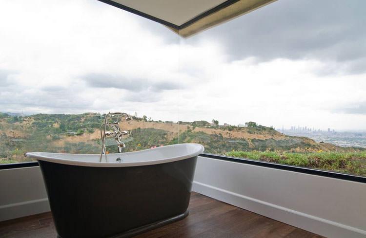 Bagno di lusso con vista panoramica n.01