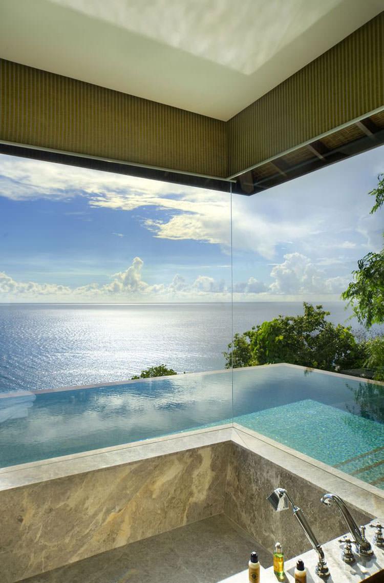 Bagno di lusso con vista panoramica n.03