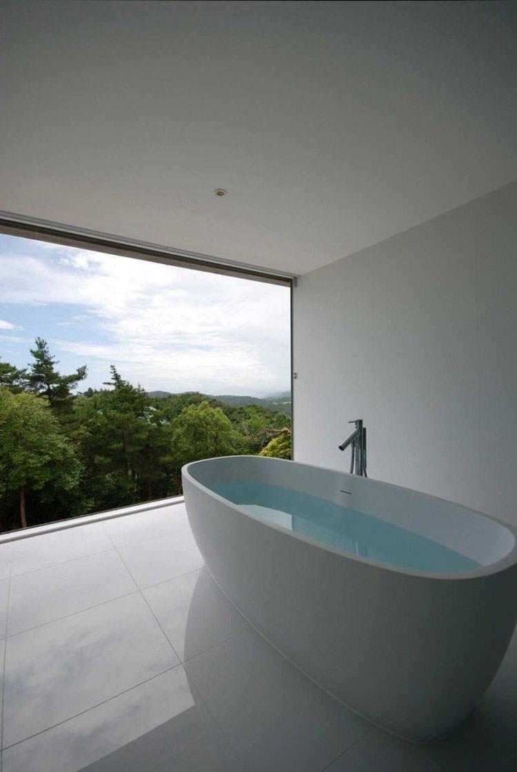 Bagno di lusso con vista panoramica n.11