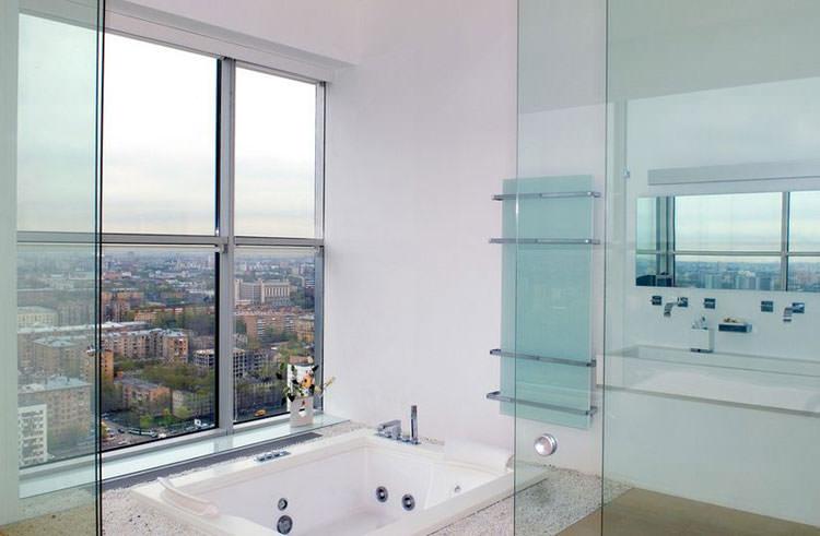 Bagno di lusso con vista panoramica n.18