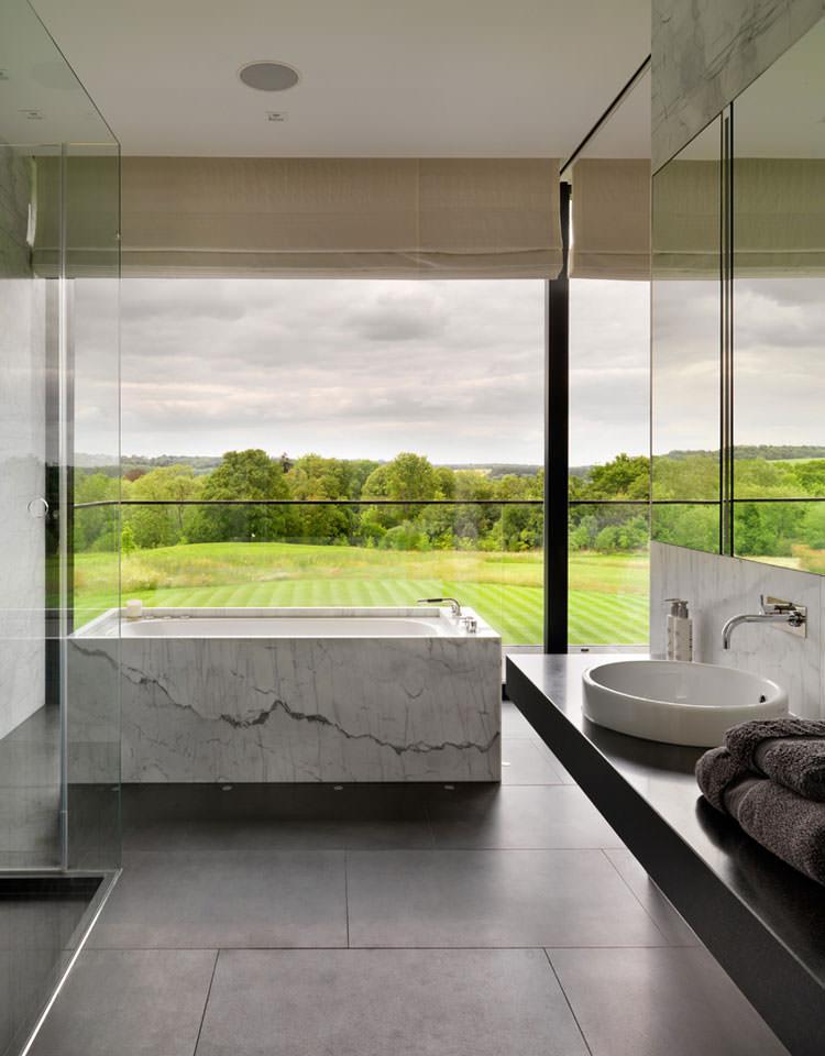 Bagno di lusso con vista panoramica n.24