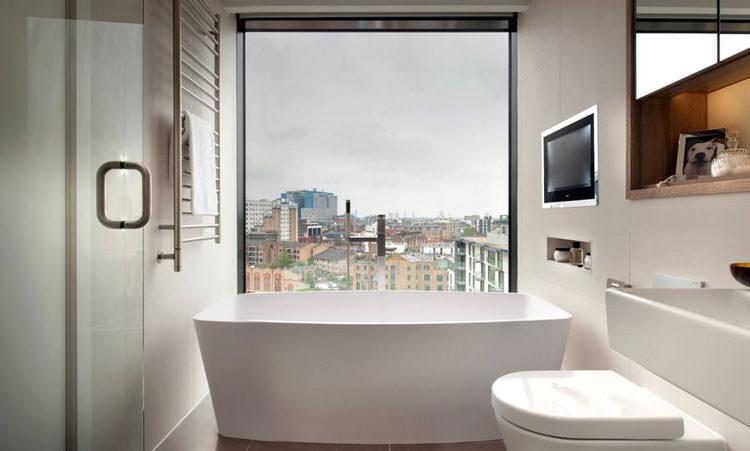 Bagno di lusso con vista panoramica n.25