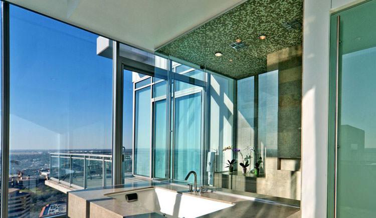Bagno di lusso con vista panoramica n.28