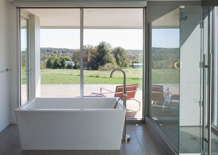 Bagno di lusso con vista panoramica n.29