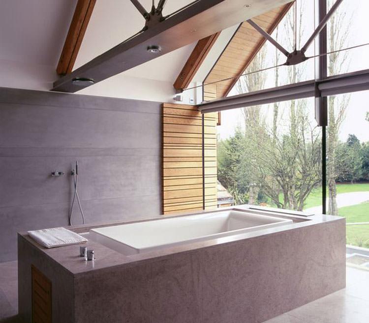 Bagno di lusso con vista panoramica n.30