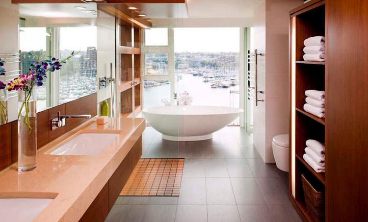 Bagno di lusso con vista panoramica n.32