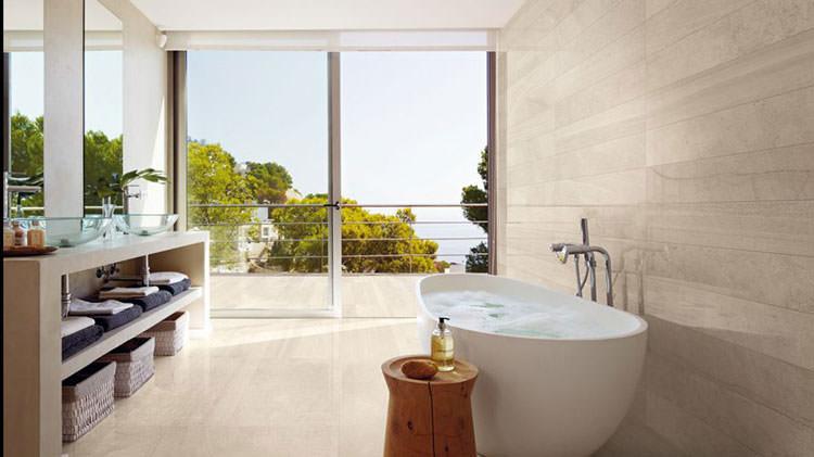 Bagno di lusso con vista panoramica n.35