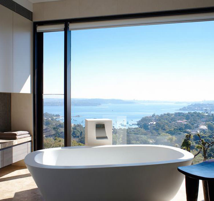Bagno di lusso con vista panoramica n.36