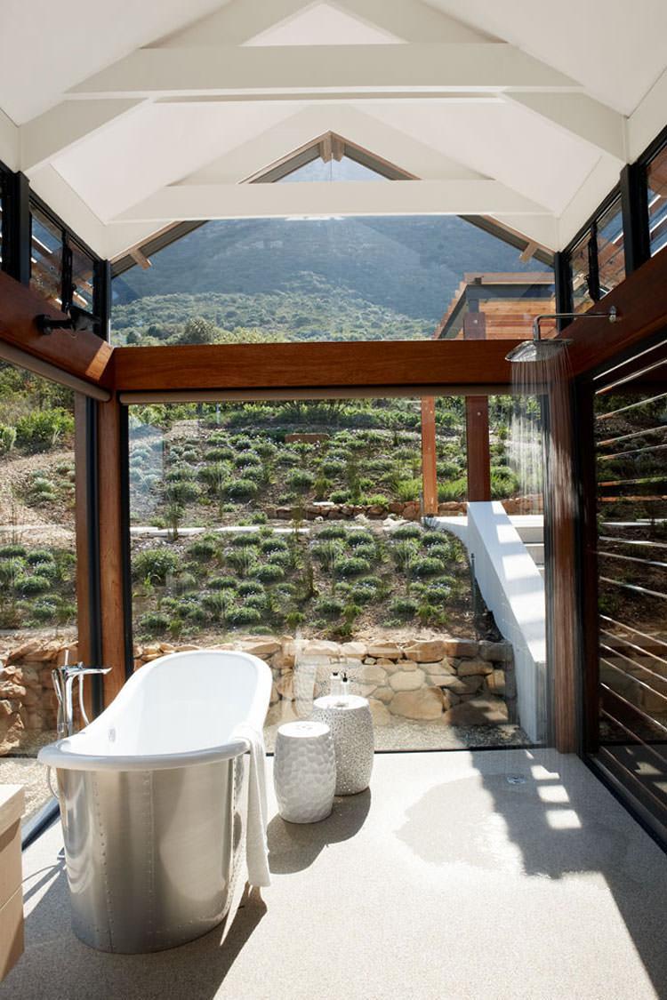 Bagno di lusso con vista panoramica n.45