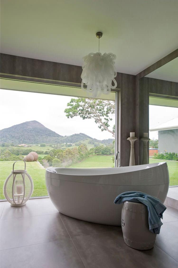 Bagno di lusso con vista panoramica n.46