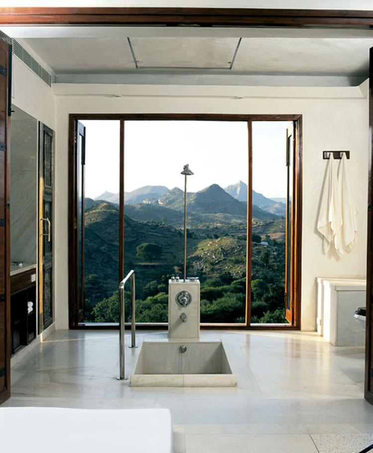 Bagno di lusso con vista panoramica n.47