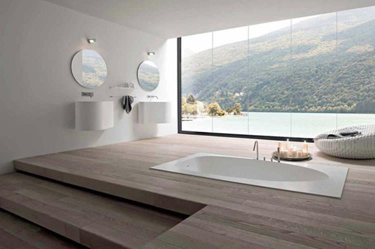 Bagno di lusso con vista panoramica n.48