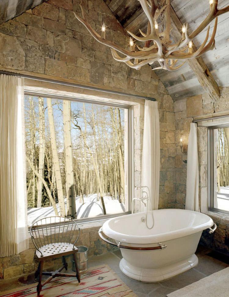 Bagno di lusso con vista panoramica n.50