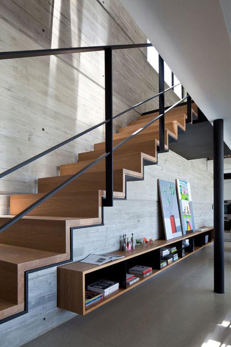 Corrimano e ringhiere per interni da design moderno n.02