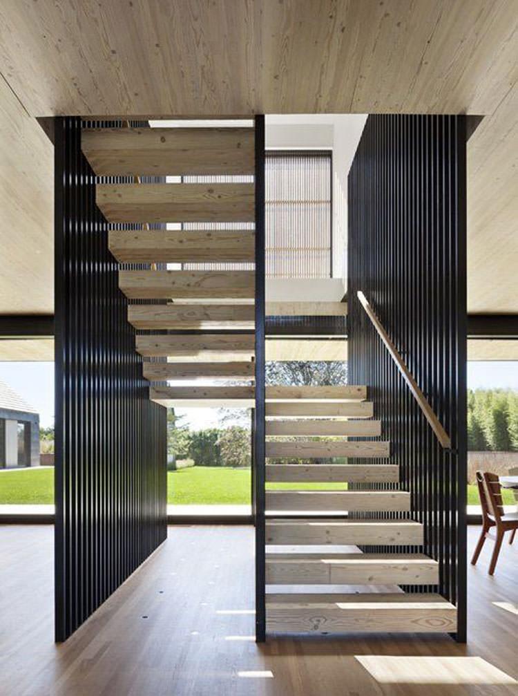 Corrimano e ringhiere per interni da design moderno n.03