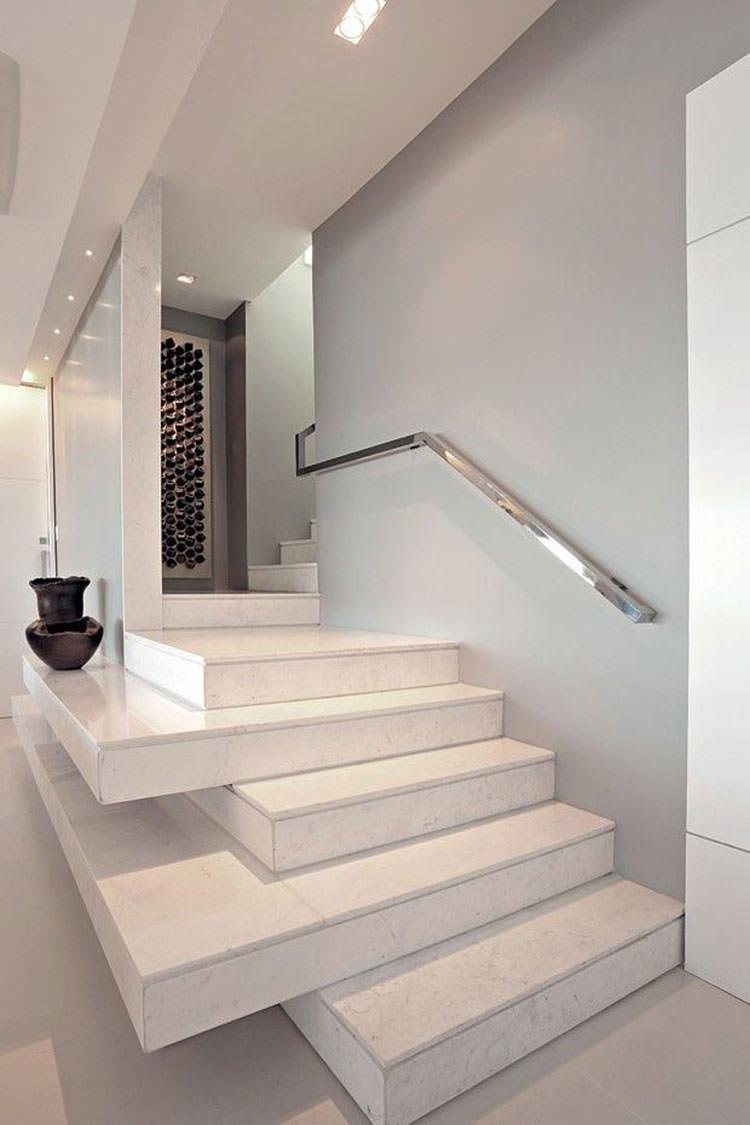 Corrimano e ringhiere per scale dal design moderno for Essere minimalisti