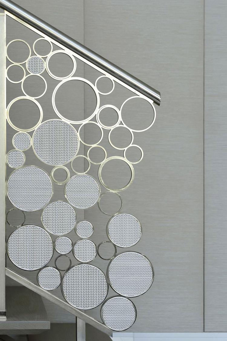 Corrimano e ringhiere per interni da design moderno n.07