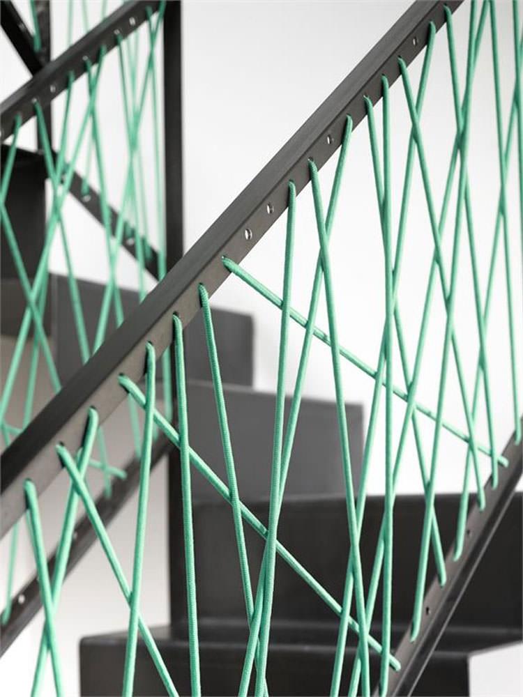 Corrimano e ringhiere per interni da design moderno n.09