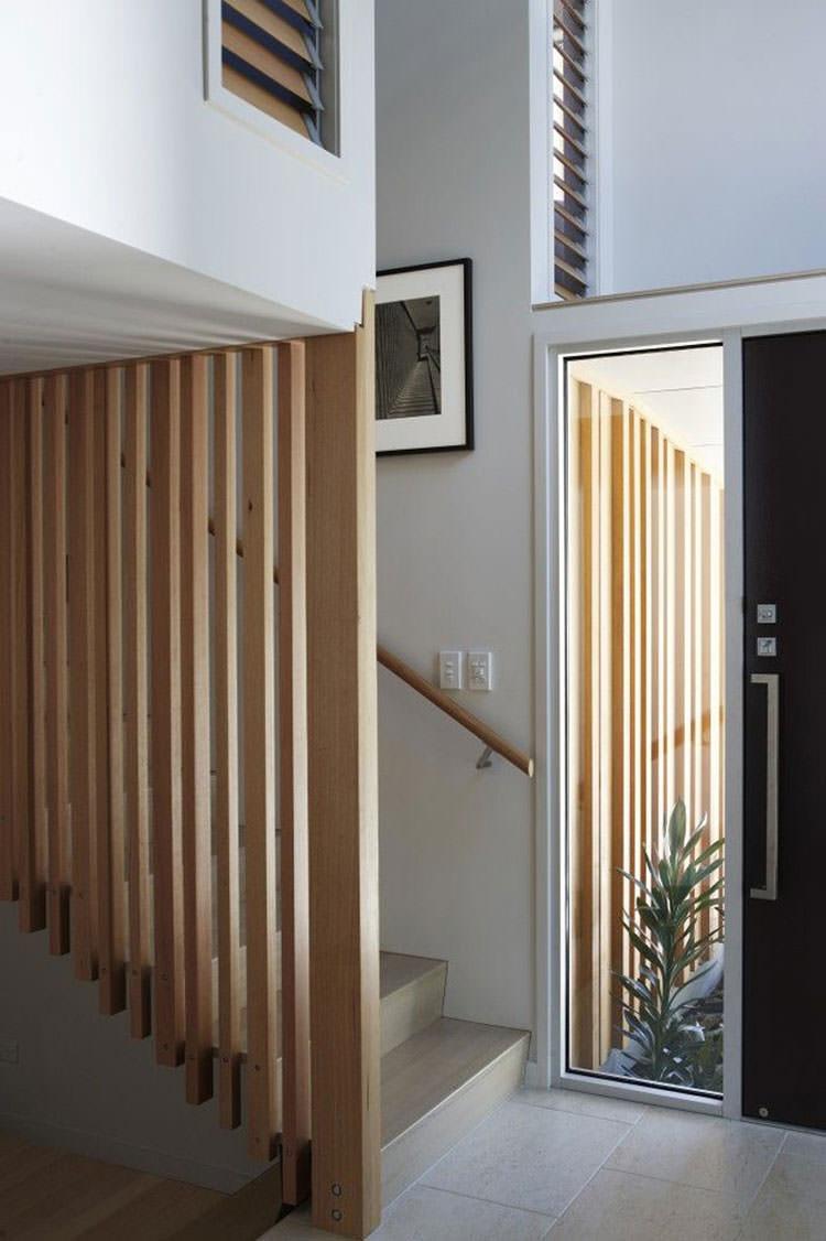 Corrimano e ringhiere per interni da design moderno n.12