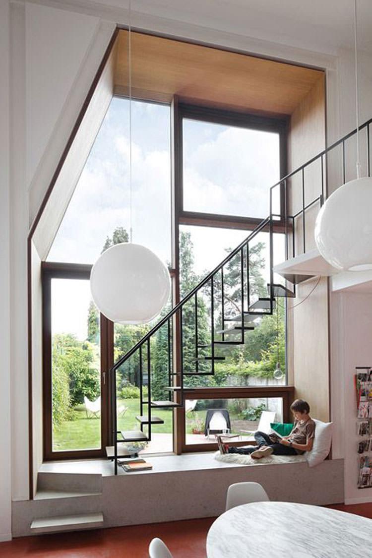 Corrimano e ringhiere per interni da design moderno n.13
