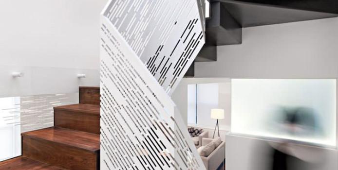 Corrimano e Ringhiere per Scale dal Design Moderno