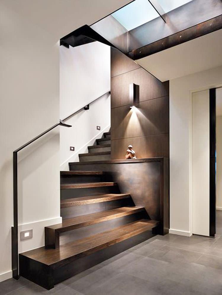 Corrimano e ringhiere per scale dal design moderno for Design moderno