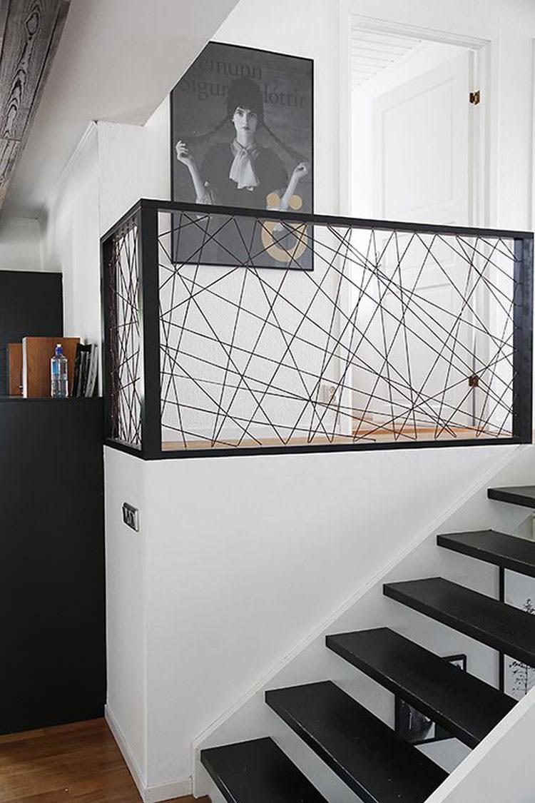 Corrimano e ringhiere per interni da design moderno n.19