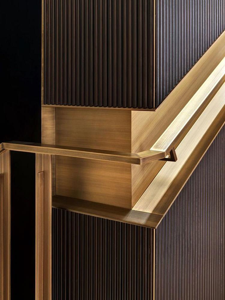 Corrimano e ringhiere per interni da design moderno n.20