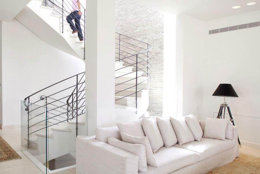 pareti bianche con mattoni a vista 25 idee creative