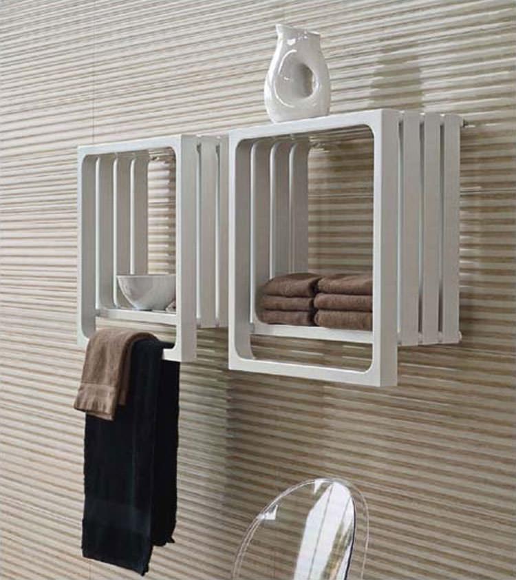 22 esempi di termoarredo bagno dal design moderno e originale - Scaldasalviette da bagno ...