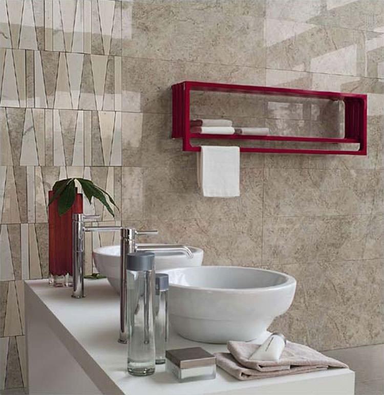 Termoarredo bagno dal design moderno n.04