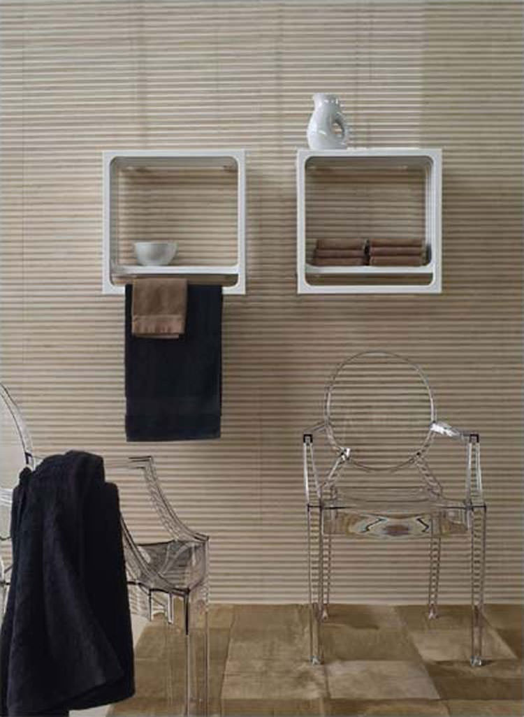 22 esempi di termoarredo bagno dal design moderno e - Mobili porta asciugamani bagno ...