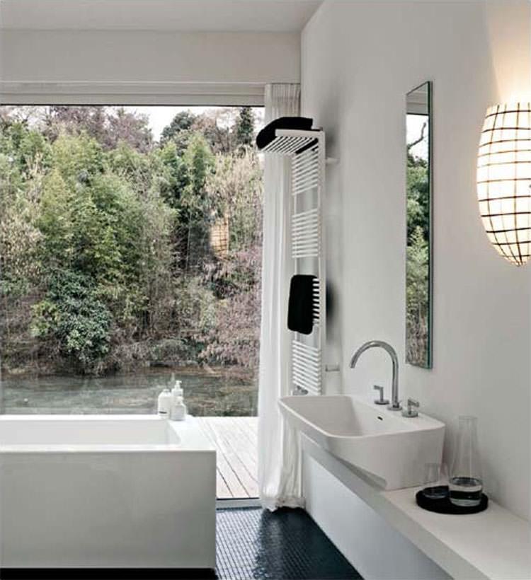 Termoarredo bagno dal design moderno n.08