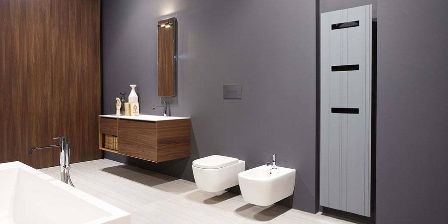 Termoarredo bagno dal design moderno n.28