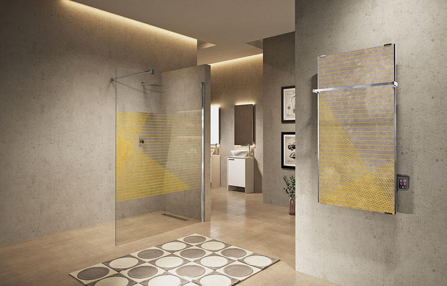 Termoarredo bagno dal design moderno n.40