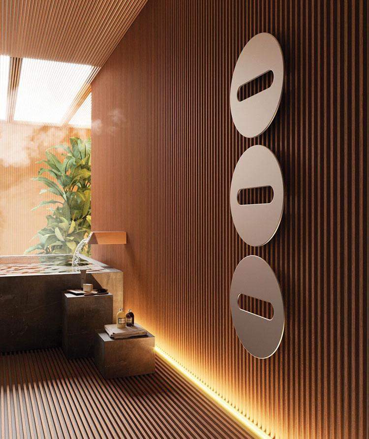 Termoarredo bagno dal design moderno n.56