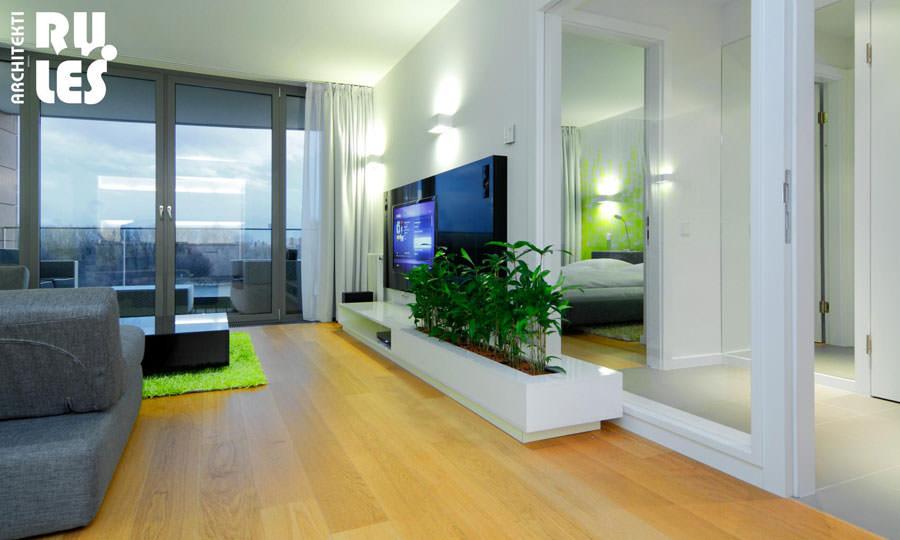Idee per arredare il salotto con piante da interno for Vasi per piante da interno moderni