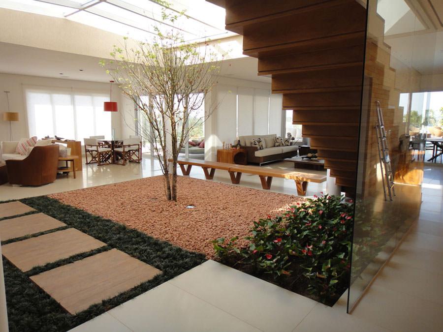 Idee per arredare il salotto con piante da interno for Idea casa arredamenti