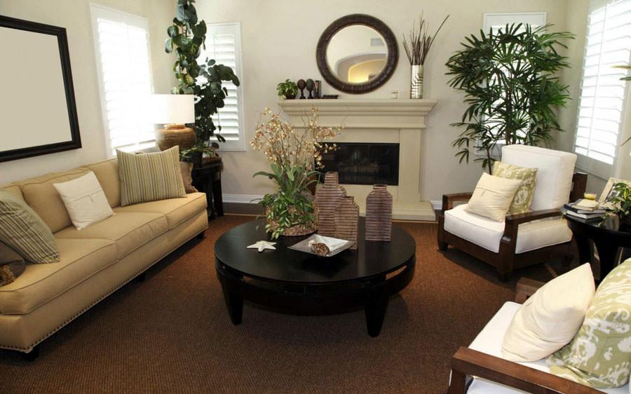 Arredare il salotto con piante da interno n.17