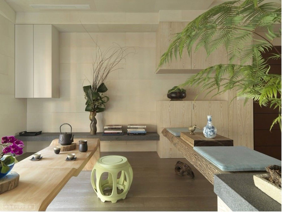 Idee per arredare il salotto con piante da interno for Essere minimalisti