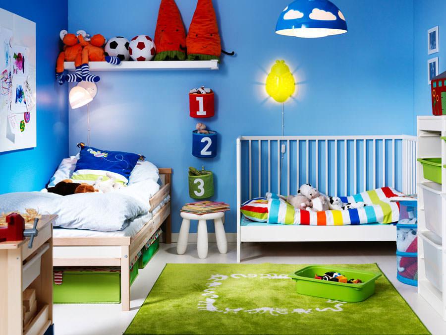 Cameretta per bambini simpatica e colorata n.06