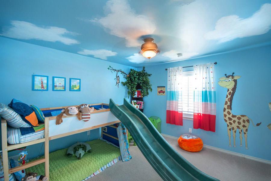 Cameretta per bambini simpatica e colorata n.30