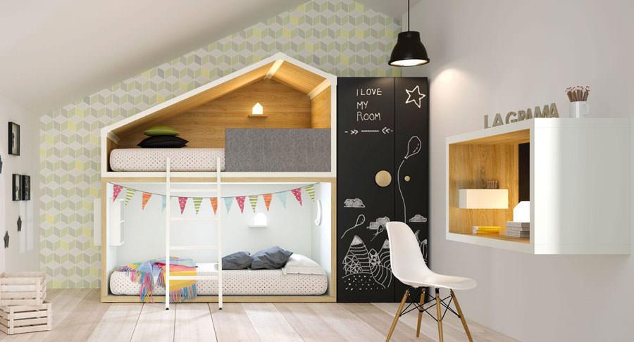 Cameretta per bambini in stile moderno n.01