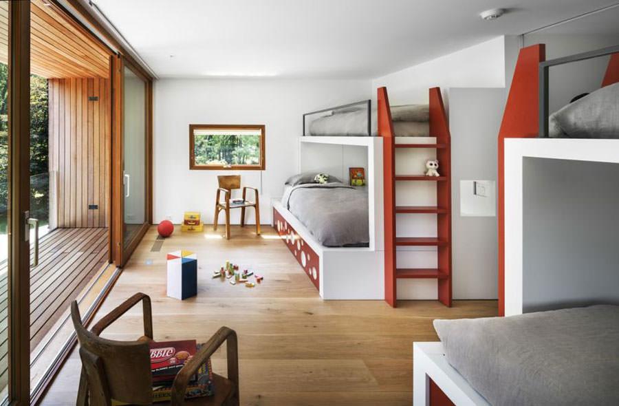 25 originali camerette moderne per bambini e ragazzi - Camere da letto per ragazzi moderne ...