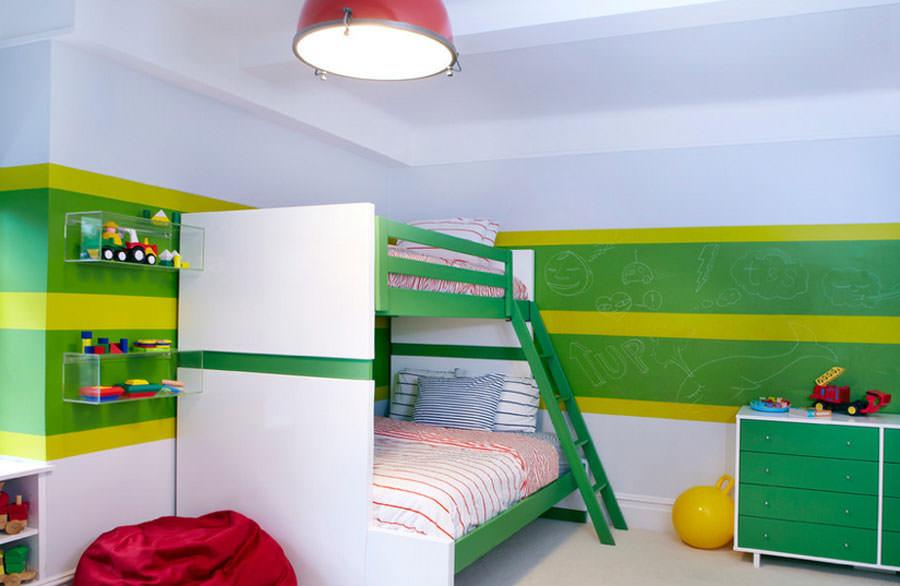Cameretta per bambini in stile moderno n.09