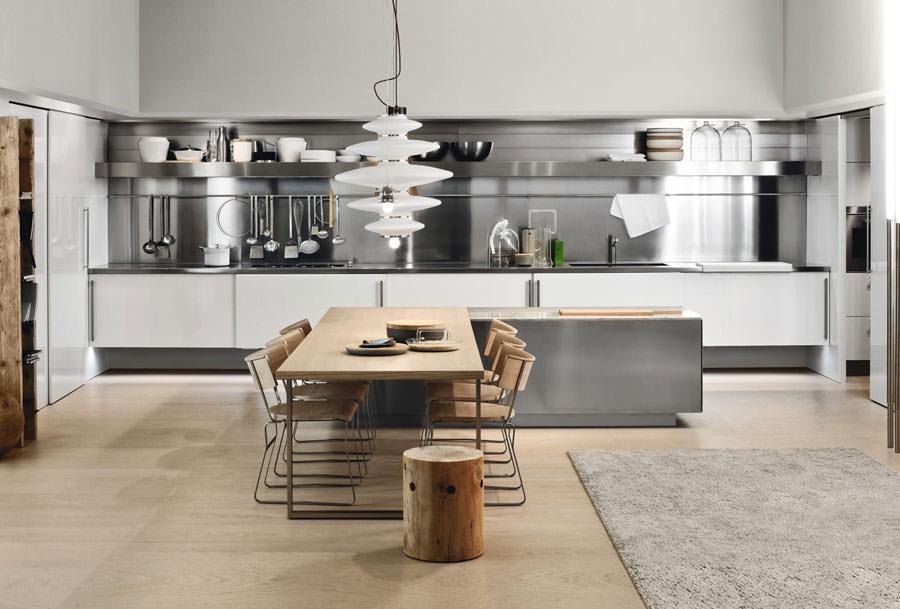 Famoso 20 Modelli di Cucine Open Space per Grandi Spazi | MondoDesign.it EJ76