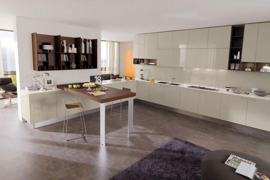 Modello di cucina open space n.03