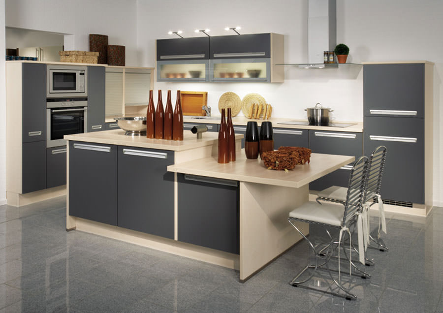 Modello di cucina open space n.05